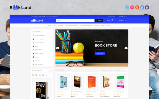 BookLand OpenCart Template