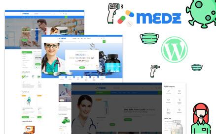 Medz - Medical Shop and Medical Equipment WordPress Theme