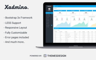 Xadmino - Admin & Dashboard Admin Template