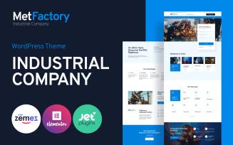 MetFactory - Industry Company WordPress Theme