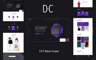 D&C PSD Template