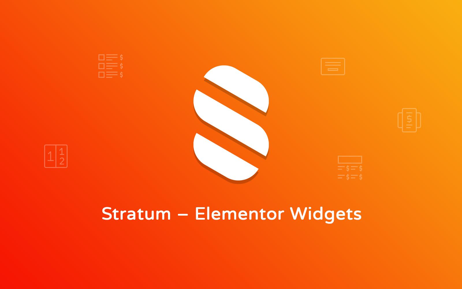 """Stratum - Elementor Extras"" WordPress Plug-in №112683"