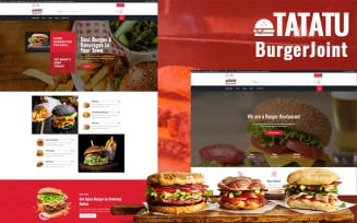 Tatatu - Burger Joint WordPress Theme