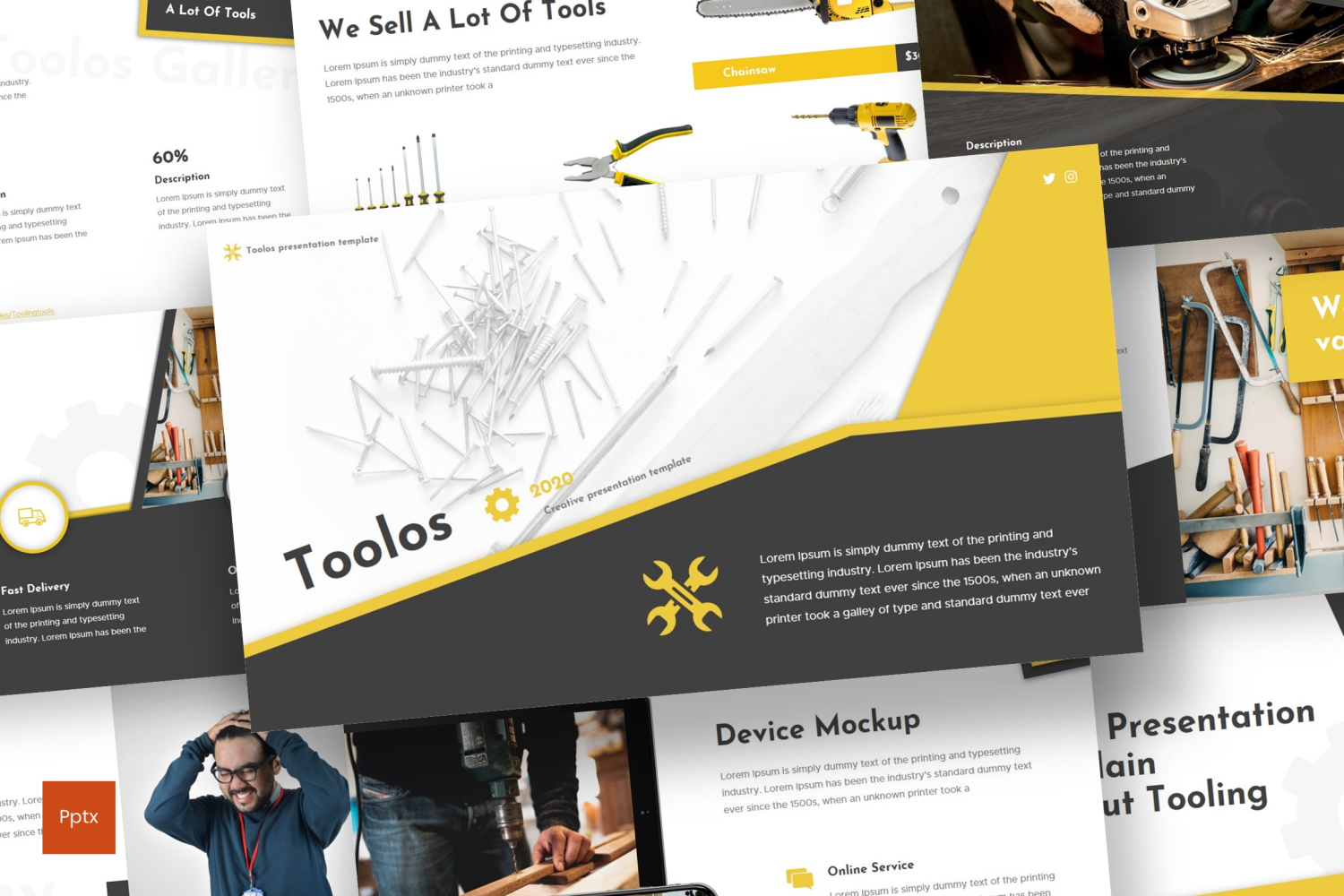 Toolos PowerPoint Template