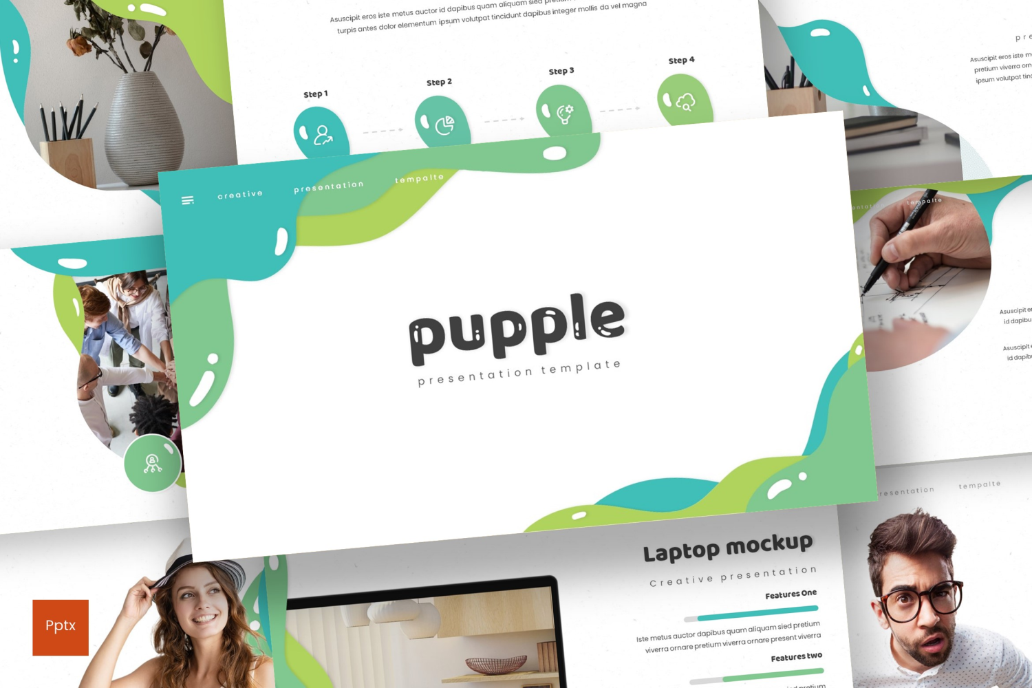 Pupple PowerPoint Template
