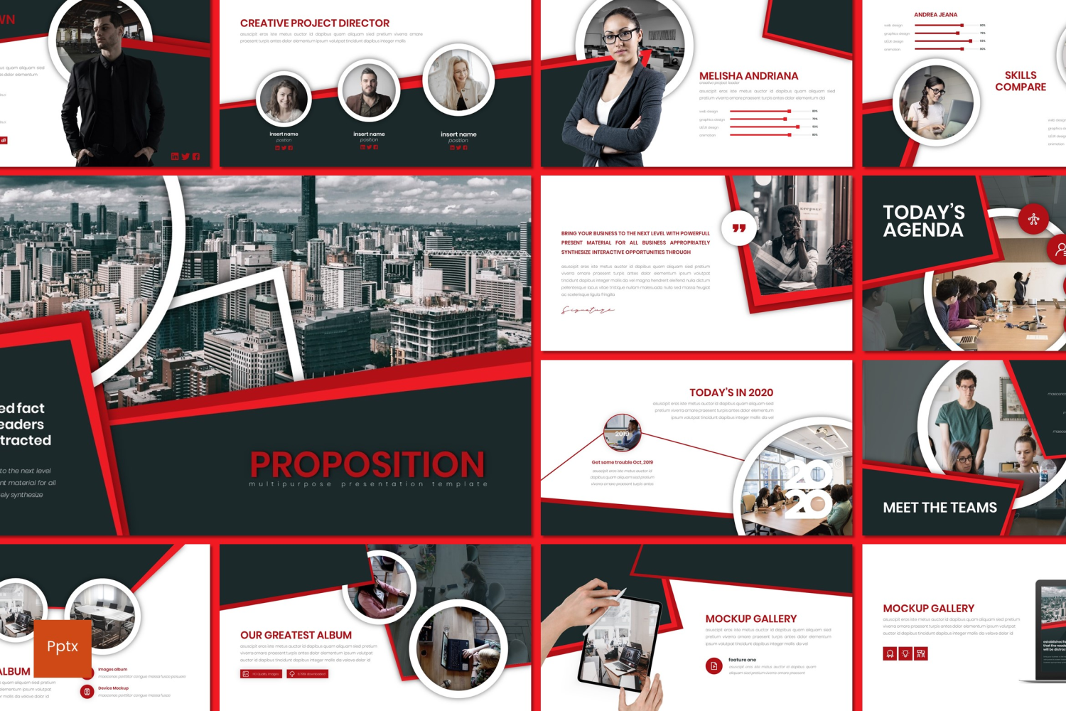 Proposition PowerPoint Template