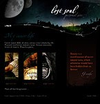 Flash: Web Design Personal Pages Flash Site Most Popular Halloween Templates Black Templates