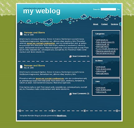 Тема (шаблон) для Wordpress (11359)