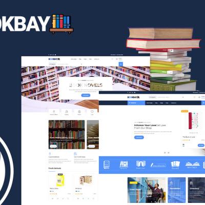 Bookbay - Book Shop WordPress Theme WordPress Theme #113109