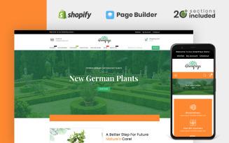 Greenfreys Plants & Garden Store Shopify Theme