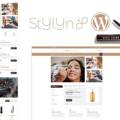 Stylyn - Cosmetic And Beauty Shop WordPress Theme #113106