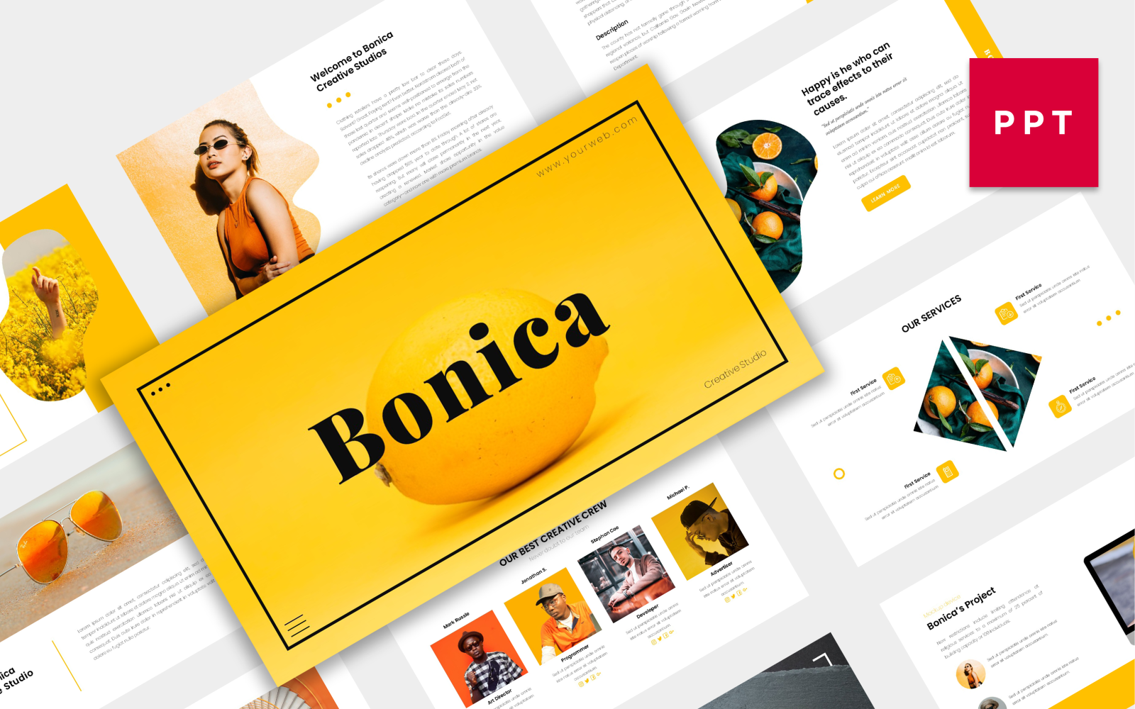 Bonica | Creative PowerPoint Template