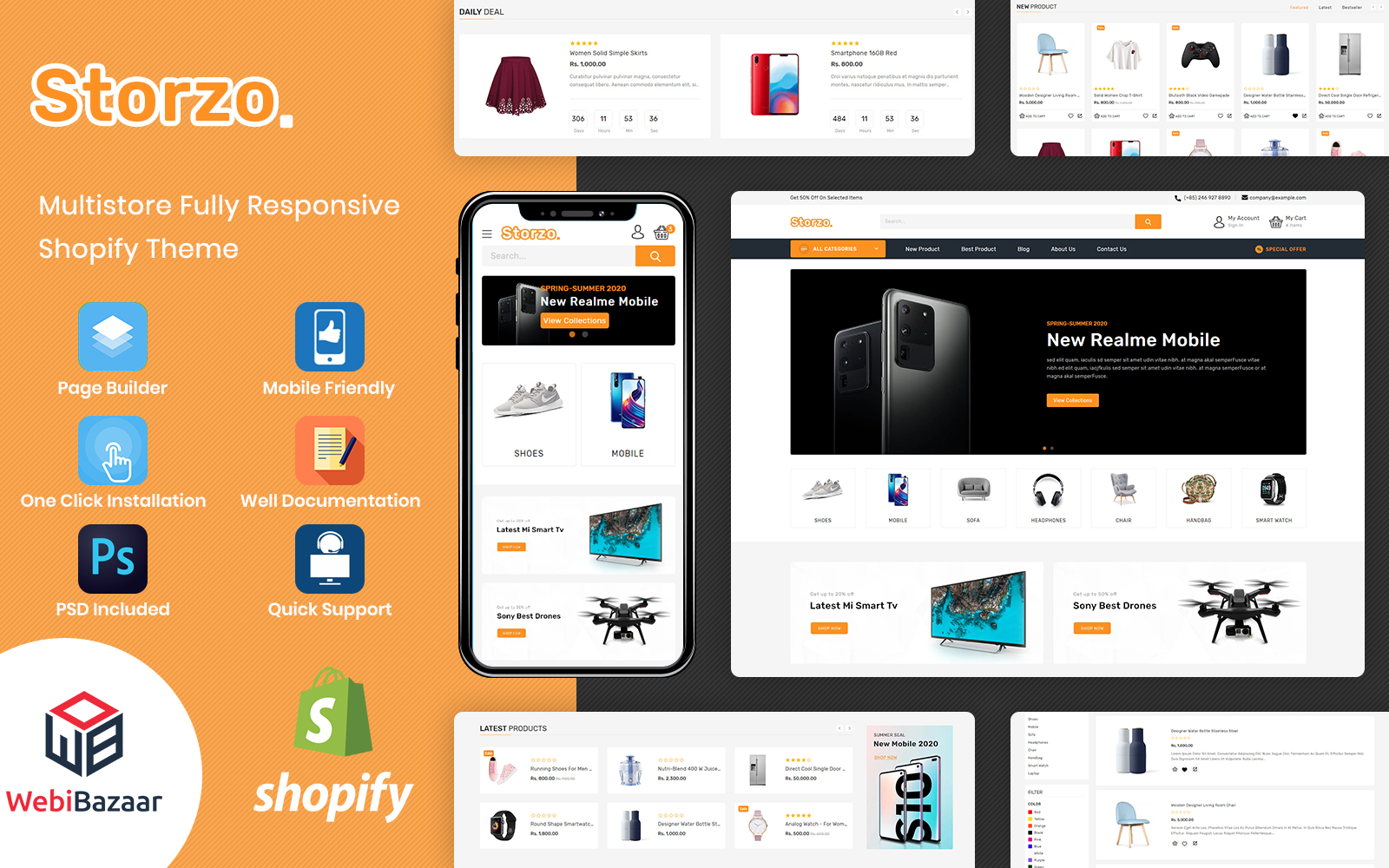 Storzo - Multipurpose E-commerce №113516