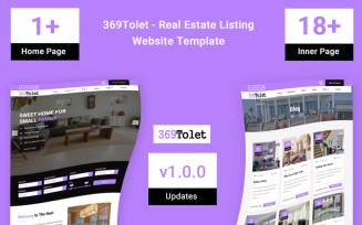 369Tolet - Real Estate Listing Website Template
