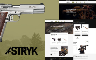 Stryk - Gun Range WordPress Theme