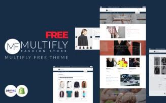 Multifly - Free Fashion Shopify Theme