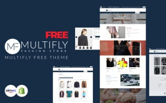 Multifly - Free Fashion Shopify Theme