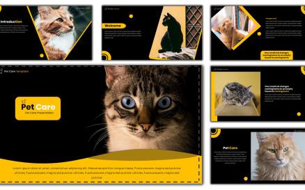 Pet Care - Creative PowerPoint Template