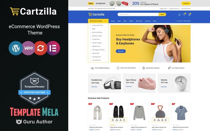 Cartzilla - Multipurpose WooCommerce Theme