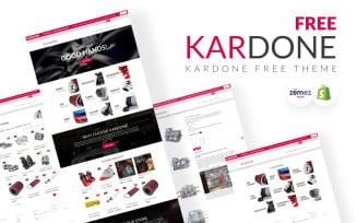 Kardone - Auto Parts Free Shopify Theme