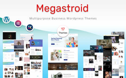 MegaStroid - Multipurpose Set Templates for your Business WordPress Theme