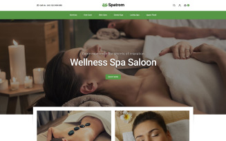 Spatrom - Spa and Beauty Store PrestaShop Theme