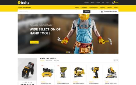 Toolrix - Tools Store PrestaShop Theme