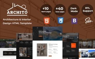 Archito - Modern Architecture & Interior Design Responsive Bootstrap Website Template