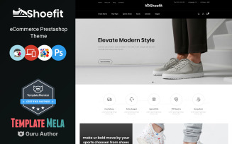 Shoefit - Shoes and Fashion Accessories Store PrestaShop Theme