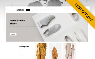 Mania - Online Fashion Store WooCommerce Theme
