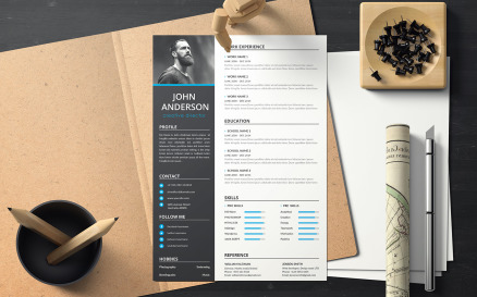 John Anderson - Creative Director CV Resume Template