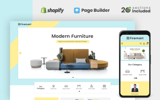 Firemart Furniture Store Shopify Theme