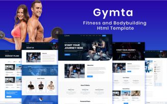 Gymta - Fitness & Bodybuilding Html Website Template