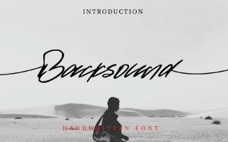 Backsound Font