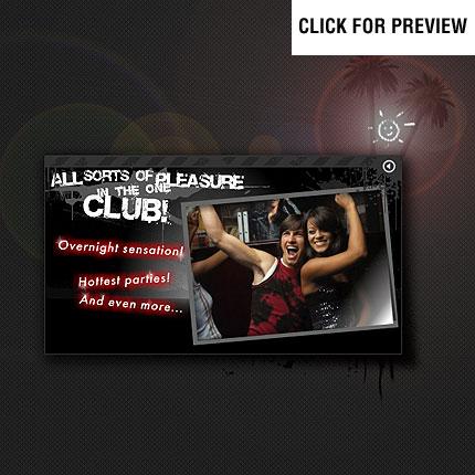 ADOBE Photoshop Template 11507 Home Page Screenshot