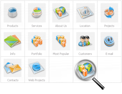 Icon Set Template 11513 Screenshots