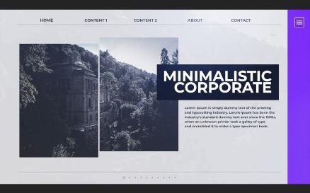 Minimalistic Corporate Premiere Pro Template