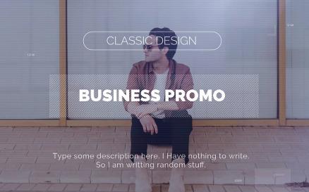 Business Promo Premiere Pro Template