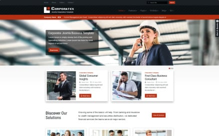 Corporatex Business-Corporation Joomla Template