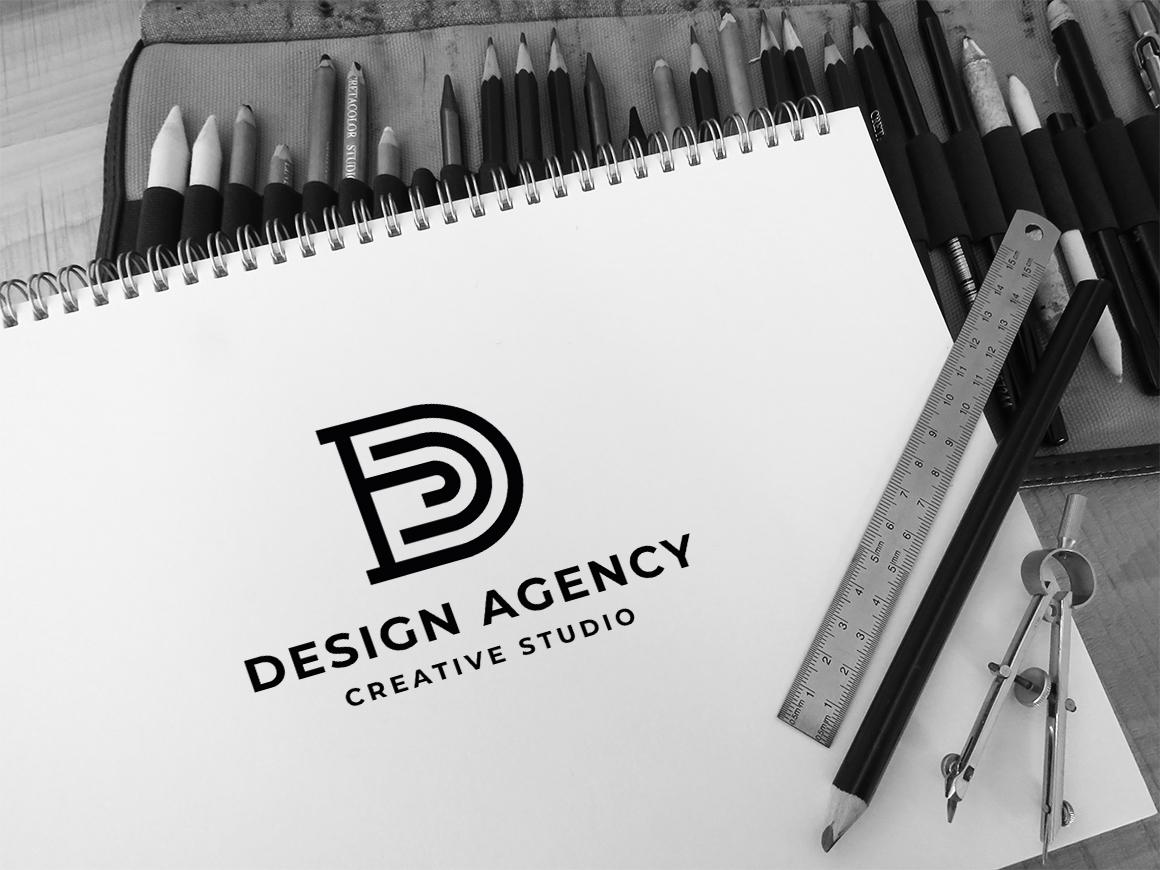 "Tema di Loghi #115110 ""Letter D Design Agency"""