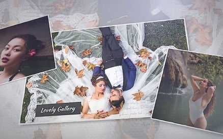 Lovely Gallery Final Cut Pro Template