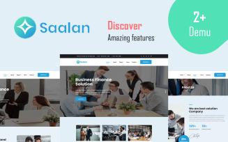 Saalan - Responsive Multipurpose Corporate Business