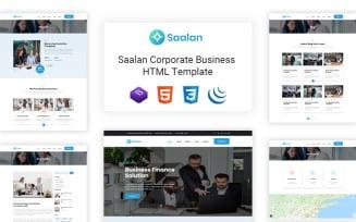 Saalan - Responsive Multipurpose Corporate Business Website Template