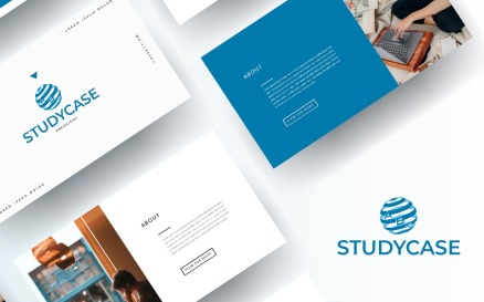 Free Portfolio for Students PowerPoint Template