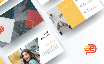 Free Consultant PowerPoint Template