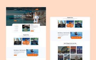Bahon - Travel Agency HTML5 Website