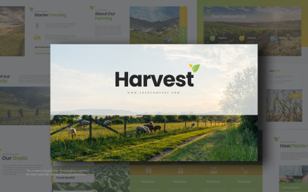 Harvest Presentation PowerPoint Template
