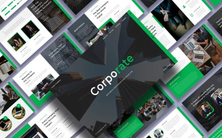 Corporate - Business PowerPoint template PowerPoint Template