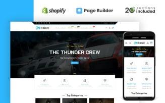 Ridex Game Store Shopify Theme