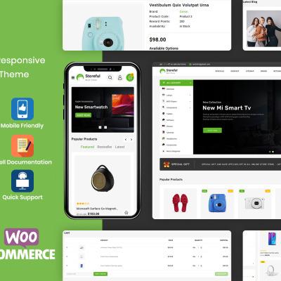 StoreFul - Multipurpose Electronics WooCommerce Theme #115841
